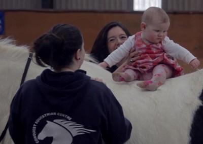 Dylan, Chantal & baby 2