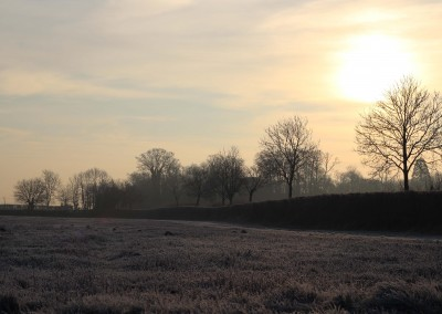 Frosty morning at Conquest