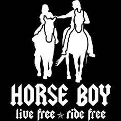 Horse Boy Logo